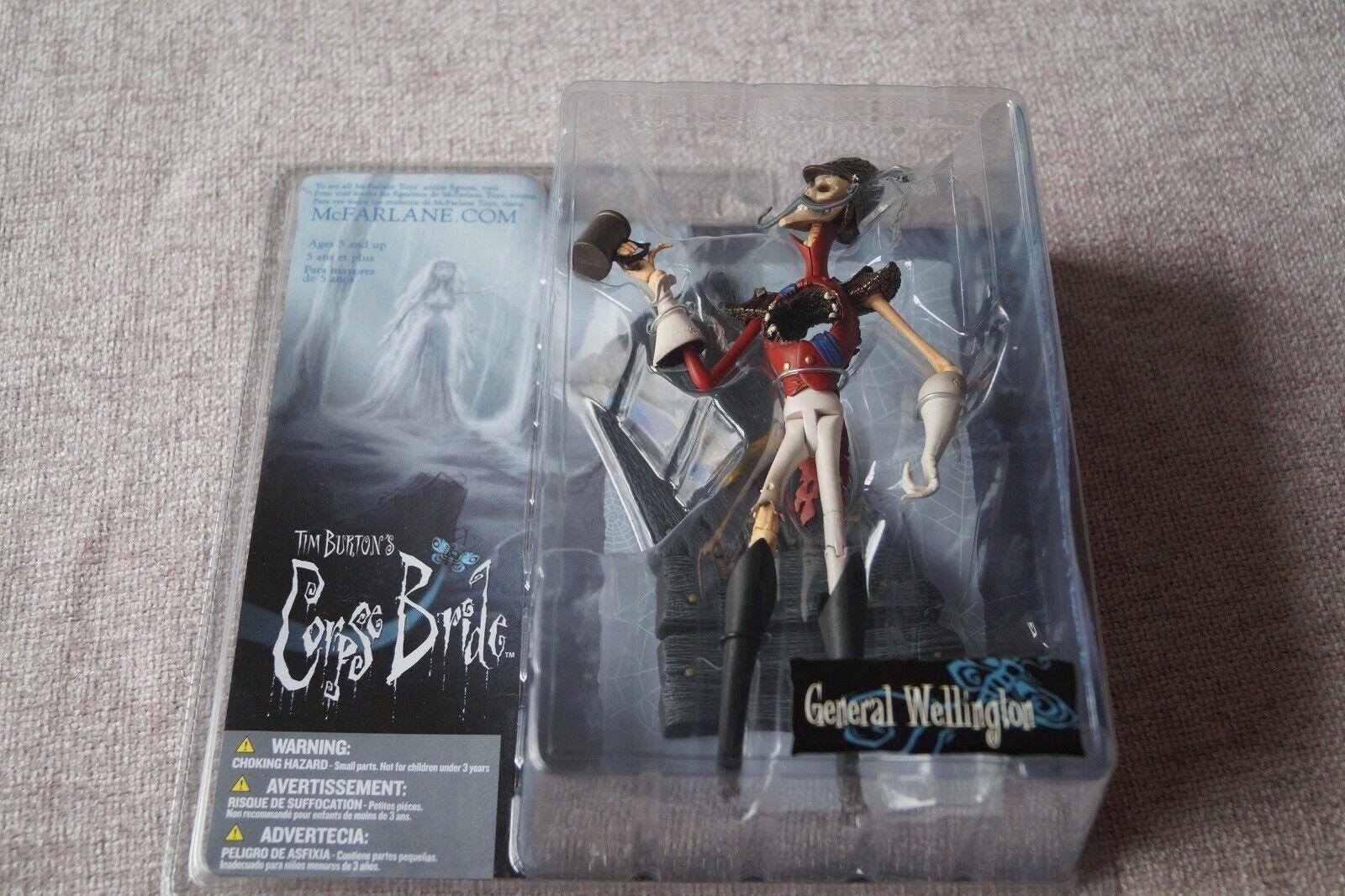 McFarlane Toys - Tim Burton's Corpse Bride - General Wellington Action Figure