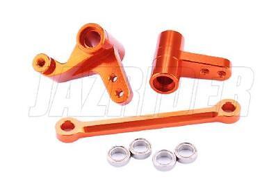 Jazrider HPI Bullet MT ST Flux Aluminum Steering Bearing Assembly Crank Set