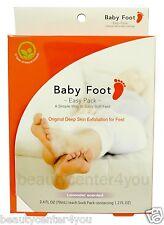 BABY FOOT Easy Pack (Foot Gel for removal of dead skin cells) Foot Peel  2.4 oz