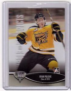 RYAN-PULOCK-12-13-ITG-H-amp-P-Class-of-2013-3D-Rookie-RC-161-SP-3-D-Wheat-Kings