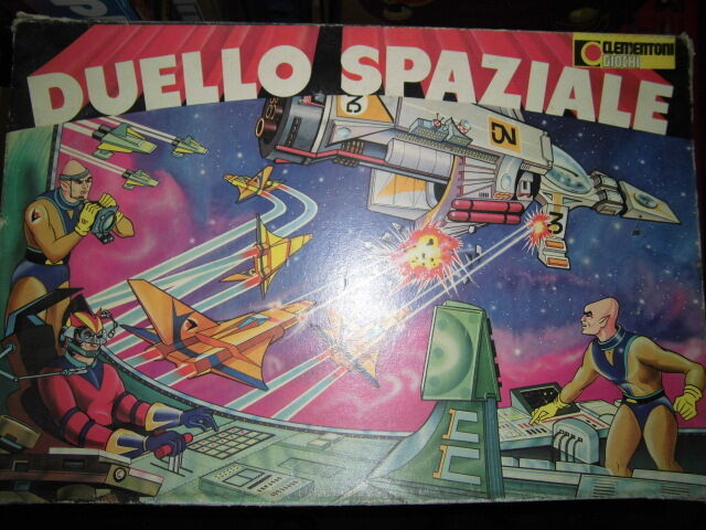 Game Company Table Duel Space Clementoni science fiction games electronic