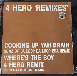 4-Hero-039-Cooking-Up-Yah-Brain-Remixes-Old-Skool-Hardcore-1992