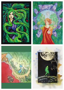 Fallenfantasyart pagan magical wolf dream elf greeting card scottish image is loading fallenfantasyart pagan magical wolf dream elf greeting card m4hsunfo