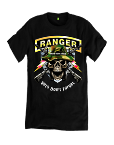 Vets-Don-039-t-Forget-Death-From-Above-Ranger-T-Shirt-Choice-of-Shirt-Color