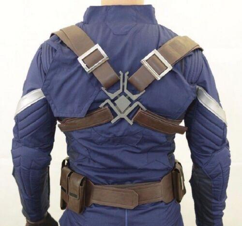 Captain America adjustable BELT POUCHES Set Accessories