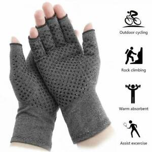 Arthritis-Gloves-Magnetic-Pain-Relief-Compression-Wrist-Support-Hand-Palm-Brace
