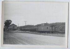 1964 Soo Line Railroad Station Gladstone Michigan Vintage  Original photo