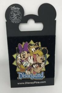 Disneyland-Resort-DLR-Bustin-039-Out-FAB-5-PIN-48834-Pluto-Goofy-Mickey-Minnie-Don