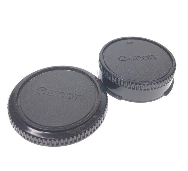 Genuine Canon FD rear lens cap.