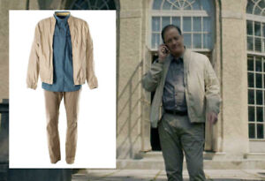 Condor-Nathan-Fowler-Brendan-Fraser-Screen-Worn-Jacket-Shirt-amp-Pants-Ep-108