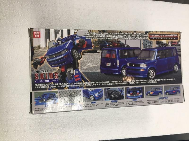 Transformers Theoretician SKIDS bB X Version 1 24 24 24 by Takara ec9d53