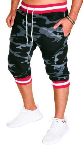 Hommes Bermuda Short Capri Pantalon Court 3//4 d/'été Femmes Uni Shorts Neuf b.1120