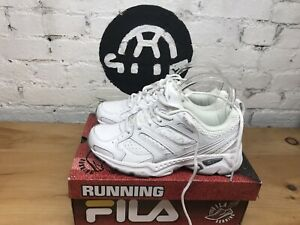 FILA-Women-039-s-Capture-Athletic-Training-Running-Shoes-White-Silver-Size-7-5