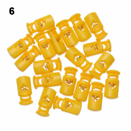 Cord Lock Spring Clasp Stop Shoelace Rope Parts Drawstring Stopper Toggles