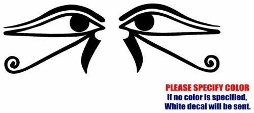 "Egyptian Eye of Horus Ra Graphic Die Cut decal sticker Car Truck Boat Window 7/"""