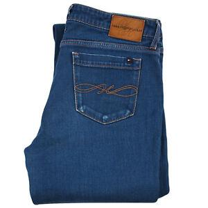 Tommy-Hilfiger-pour-Femme-Bleu-Jeans-Slim-Bootcut-Taille-Basse-29-32