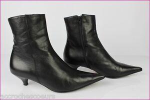 Molto Stivali Black Buono Leather Millotti 5 Stivaletti T Cristina Condizioni 38 All nnvSqC