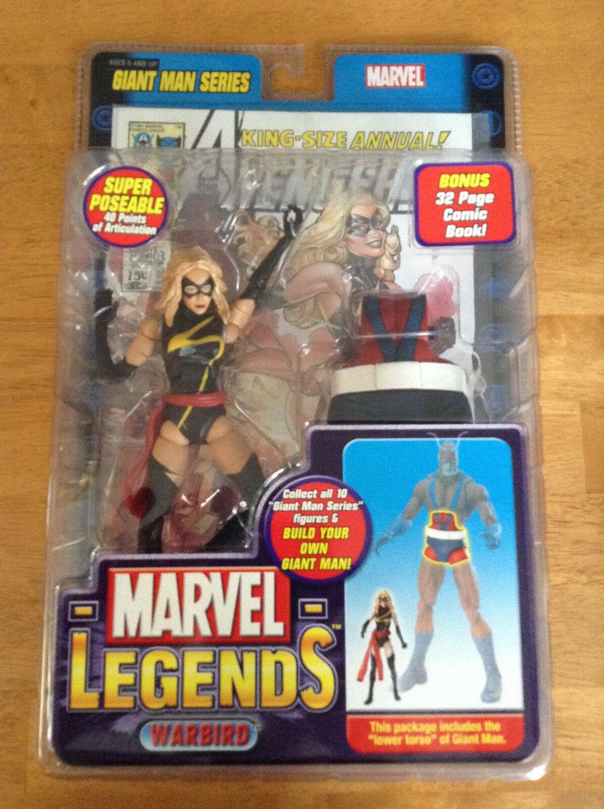 Marvel Legends NEW - Warbird   Ms MARVEL - Giantman BAF Lower Torso AVENGERS