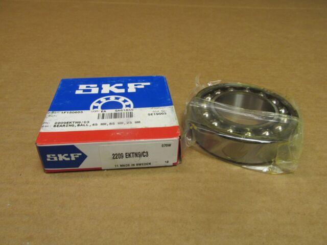 2209 SKF New Self Aligning Ball Bearing