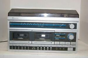 Vintage-SEARS-Phonograph-Radio-Tape-Record-Turntable-Stereo-Deck-132-91827451