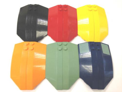 Select Colour LEGO 41749 41750 3X8X2 Slope Round Brick FREE P/&P!