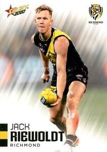 New-2020-RICHMOND-TIGERS-AFL-Premiers-Card-JACK-RIEWOLDT-Footy-Stars