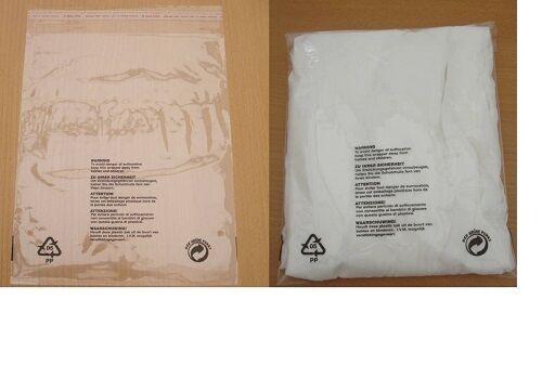 "CLEAR SELF ADHESIVE PLASTIC BAGS 12x16/""+2 //GARMENT BAGS//DISPLAY BAGS//CLEAR BAGS"