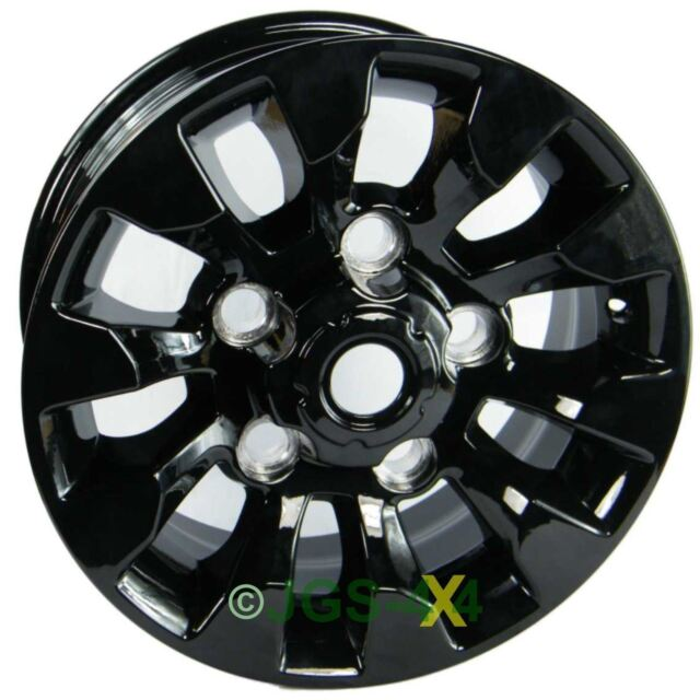 "Land Rover Defender Black SAWTOOTH Style Alloy Wheel 16"" X 7"" - LR025862"