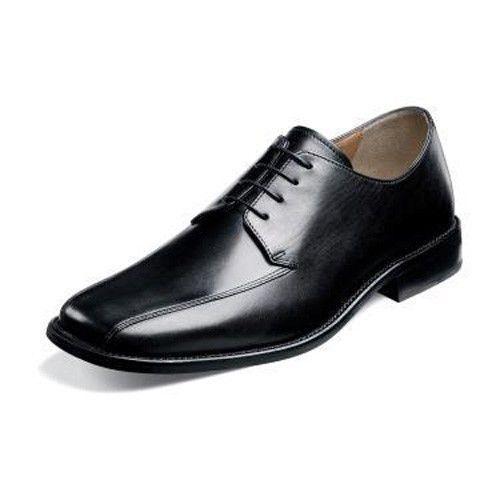 Florsheim Hombre 18260 Stockton Cuero Negro Oxford