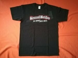 KRAWALLBRUDER-So-wahr-mir-Gott-Shirt-Groesse-M-L-XL-NEU