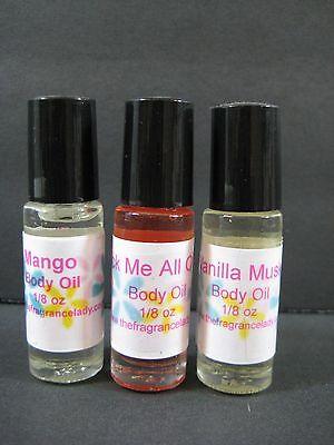EGYPTIAN MUSK Perfume Body Oil Fragrance 1/8 Oz Roll On One Bottle