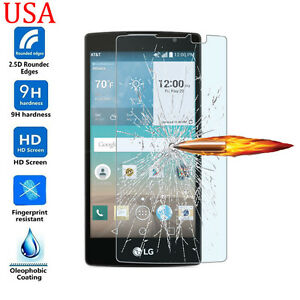 9H ULTRA CLEAR TEMPER GLASS SCREEN PROTECTOR For LG Escape 2 (2nd Gen) H443 H445