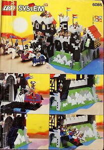 LEGO Ritter Castle Zubehör Figur Waffe 4 x Lanze Mast schwarz NEUWARE