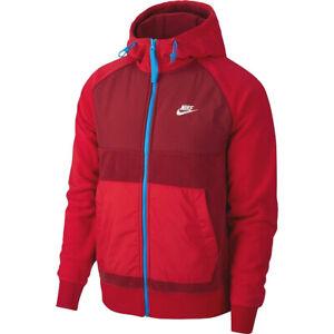 Details zu Nike Herren NSW Full Zip Winter Polar Fleece Jacke Hoodie Sweatjacke BV3592 677