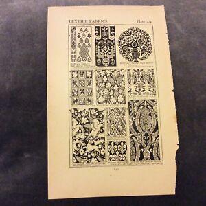 Antique-Book-Print-Textile-Fabrics-1906