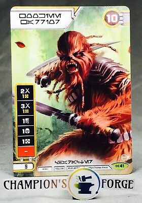 Empire at War Star Wars Destiny #41 Wookie Warrior