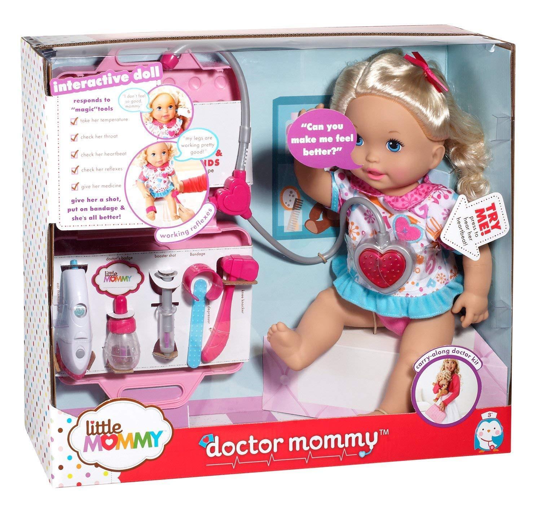 Fisher Price Mattel Muñeca que habla Mami Médico Interactivo 16