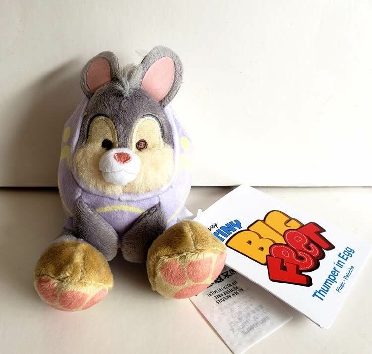 Disney Authentic Easter Thumper Bunny Tiny Big Feet Small Micro Plush Doll Toy
