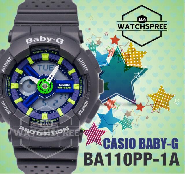 Casio Baby-G New BA-110 Punching Pattern Series Watch BA110PP-1A AU FAST & FREE