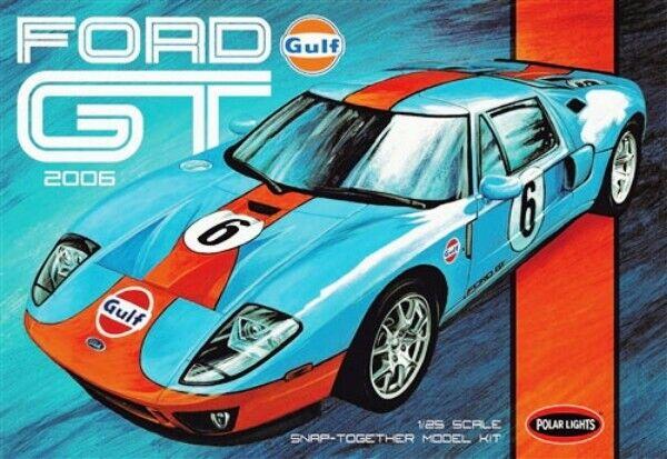 POLAR LIGHTS R2POL955 1 25 2006 Ford GT (Snap)