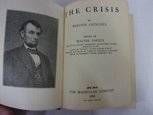 The-Crisis-by-Winston-Churchill-1926-c-1901-1921-Macmillan-Pocket-Classic
