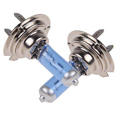 2 X Car H7 Headlight Xenon Halogen Globes Lamp Bulbs White Light 100W 12V New