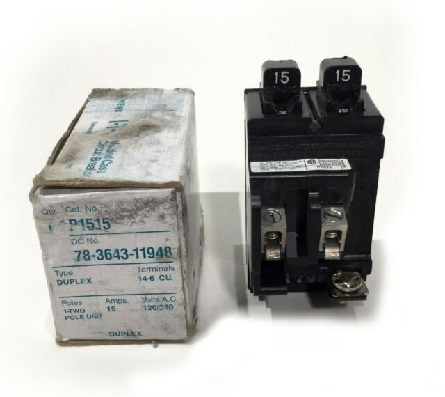 20  U0026 30 Amp Pushmatic Ite Siemens Quad 2030 Double Duplex