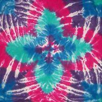 Tie Dye Bandana Tropical Hand Tye Dyed Bandanna Scarf Hippie