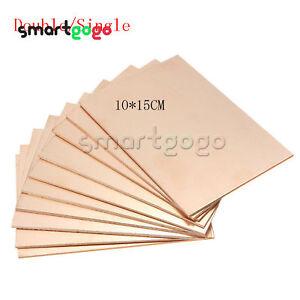 1-5-10PCS-10CM-15CM-Double-Single-PCB-Copper-Clad-Laminate-BoardBSG