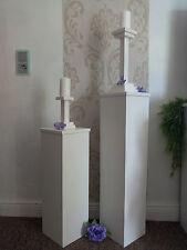 Dekosäulen 2er Set 20cm Tiefe, Deko Säulen