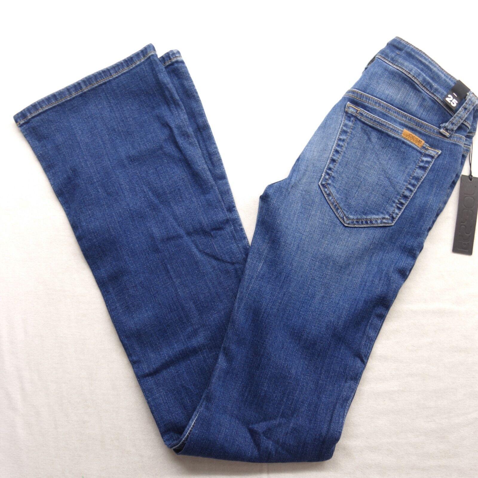 New Joe's Womens Medium bluee The Honey Curvy Bootcut Denim Jeans Pants 25 x 34