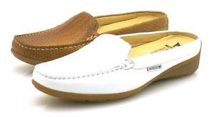 Mephisto-nedina-lederpantolette-Ciabatte-scarpe-di-cuoio-zoccoli-scarpe-donna