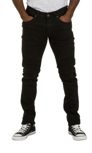 Skinny Fit Mens Jeans Black Slim fit Jeans with stretch Mens Pants