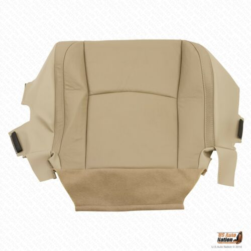 Driver Bottom Replacement Leather Seat Cover Tan For 2007 2008 2009 Lexus RX 400
